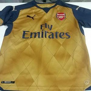 Boys Arsenal Jersey Sz YXL
